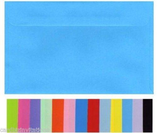 C5 ( large A5)  envelopes, many colours