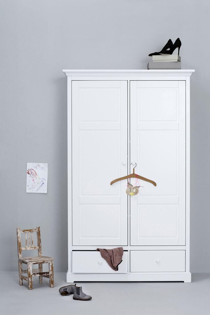 Wardrobe 2 doors Seaside Collection by Oliver Furniture.   www.oliverfurniture.com