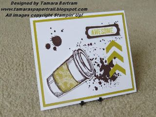Handmade Card; Perfect Blend; Stampin' Up!; Tamara's Paper Trail
