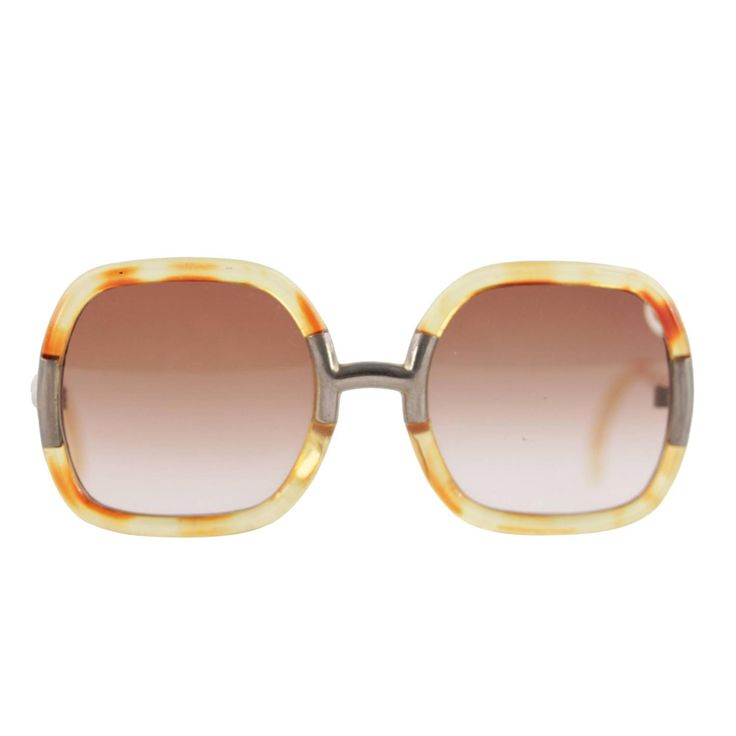 TED LAPIDUS rare vintage honey OVERSIZED SUNGLASSES shades womens eyewear   From a collection of rare vintage sunglasses at https://www.1stdibs.com/fashion/accessories/sunglasses/