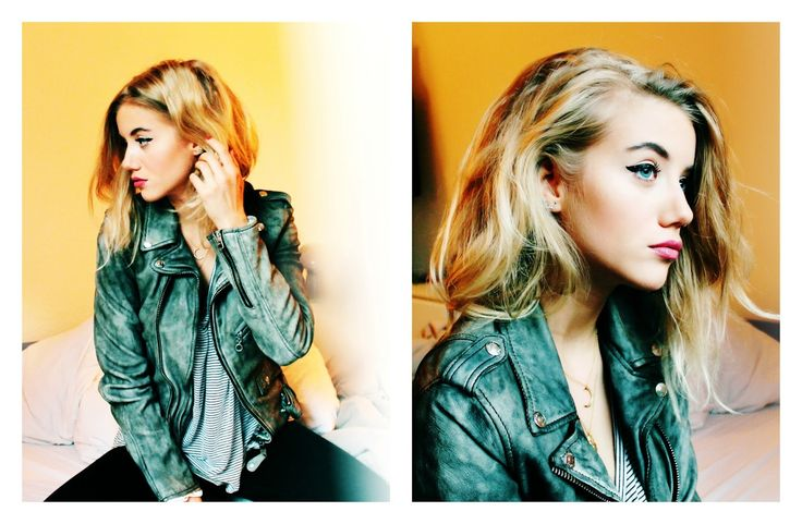 Nanda Schwarz: talking about: the perfect leather jacket