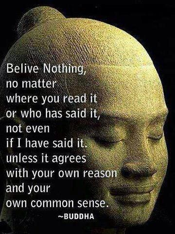 Amazing words for the founder of one of the world's biggest religions! The Buddha, an ordinary man with an extraordinary teaching, was born Siddartha Gautama in what is now northern India, and died circa 400 BCE. His teachings, centred around mindfulness and compassion, are inspiring a growing number of followers in the West many of whom don't even consider Buddhism to be a religion. I am one of those people. :)