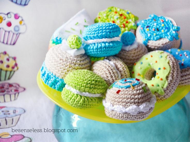 Where is the Wonderland? - airali handmade -: Amigurumi sweets