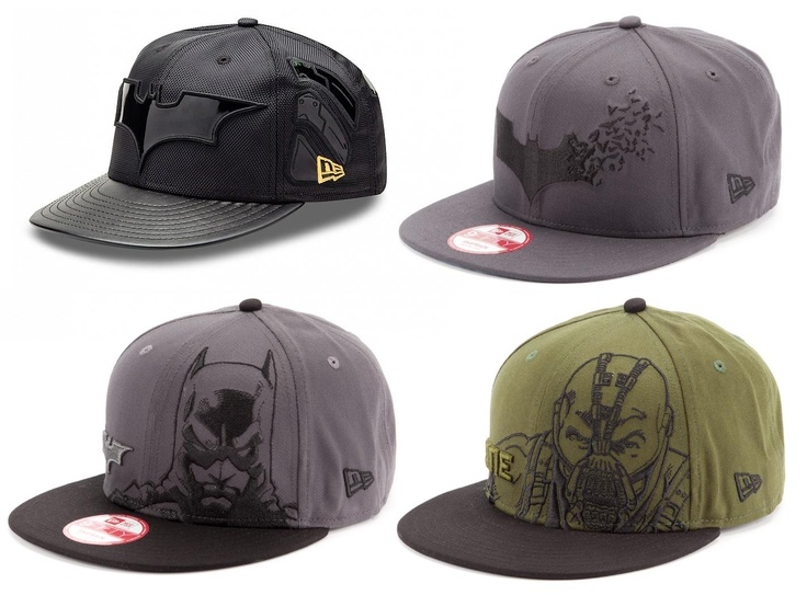 The Dark Knight Rises New Era Hat Collection 1