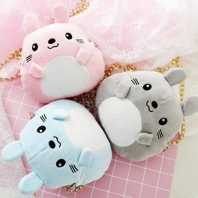 5 Colors Kawaii Animal Mini Shoulder Bag SP1710164