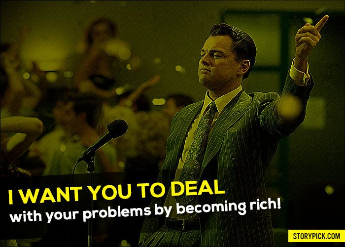 12 Quotes From 'The Wolf Of Wall Street' Which Show How Your Inner Asshole Is ALWAYS Right!
