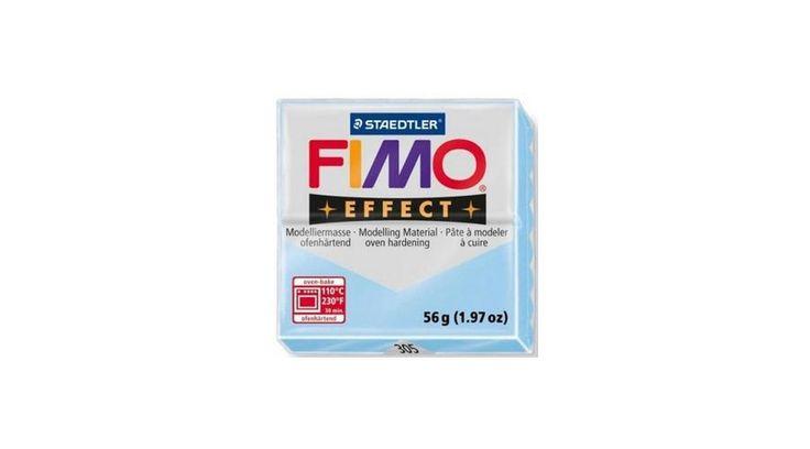 Fimo Effect süthető gyurma 56g Pasztell Vízkék / Pastel Aqua 305 - Csinálj Ékszert Ékszerkellék Webáruház
