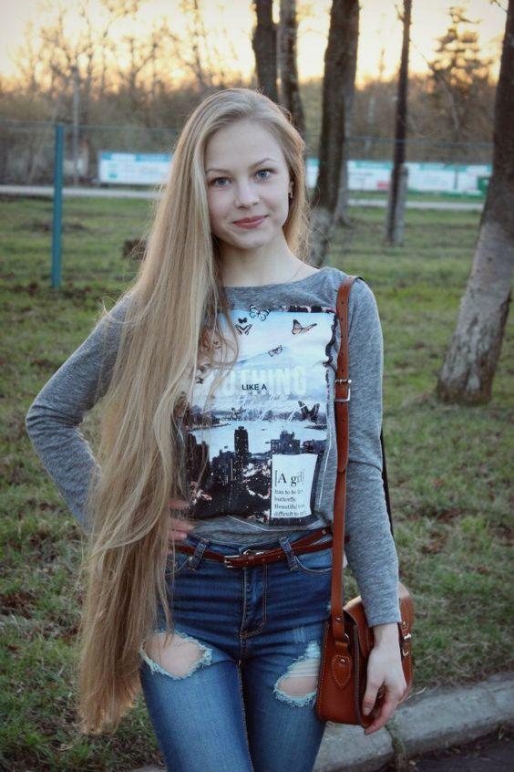 jeune fille cheveux tres long | international rapunzels in ...