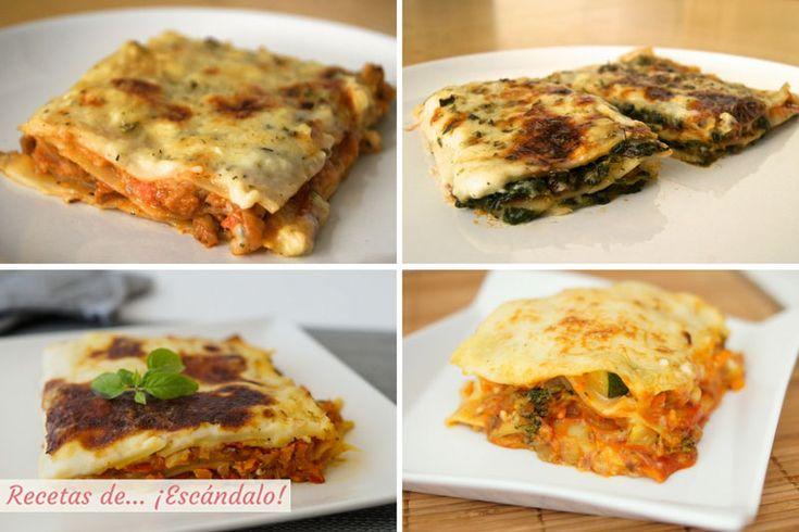 Disfruta con nuestras mejores recetas de lasaña, uno de los platos favoritos de pasta, y aprende a preparar la mejor salsa bechamel ¡te quedará perfecta!