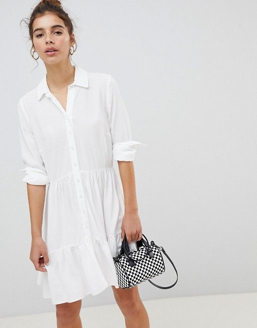 8be369586be New Look Frill Shirt Dress