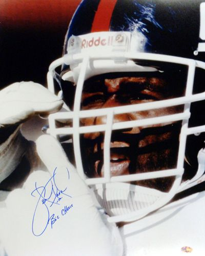 "Leonard Marshall Autographed 16x20 Photo New York Giants ""Big Cheese"" PSA/DNA Stock"
