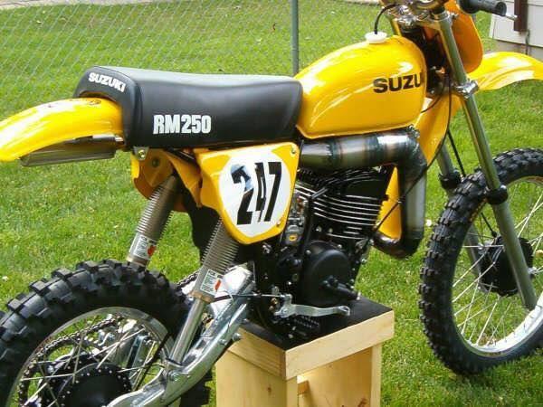 1977 Suzuki RM250B