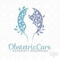 Obstetrician Logo by NancyCarterDesign