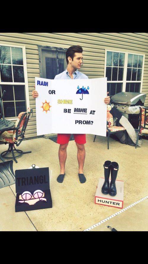 287 best prom proposal images on pinterest prom posals dance promposal wtf this is more than a promposal a fuckin triangl swimsuit and hunter rain boots ccuart Image collections