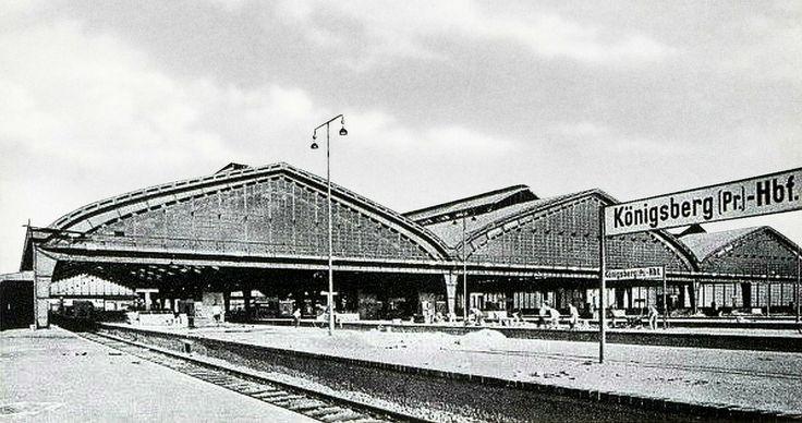171 Königsberg - Bhf. Ansicht von den Gleisen um 1930