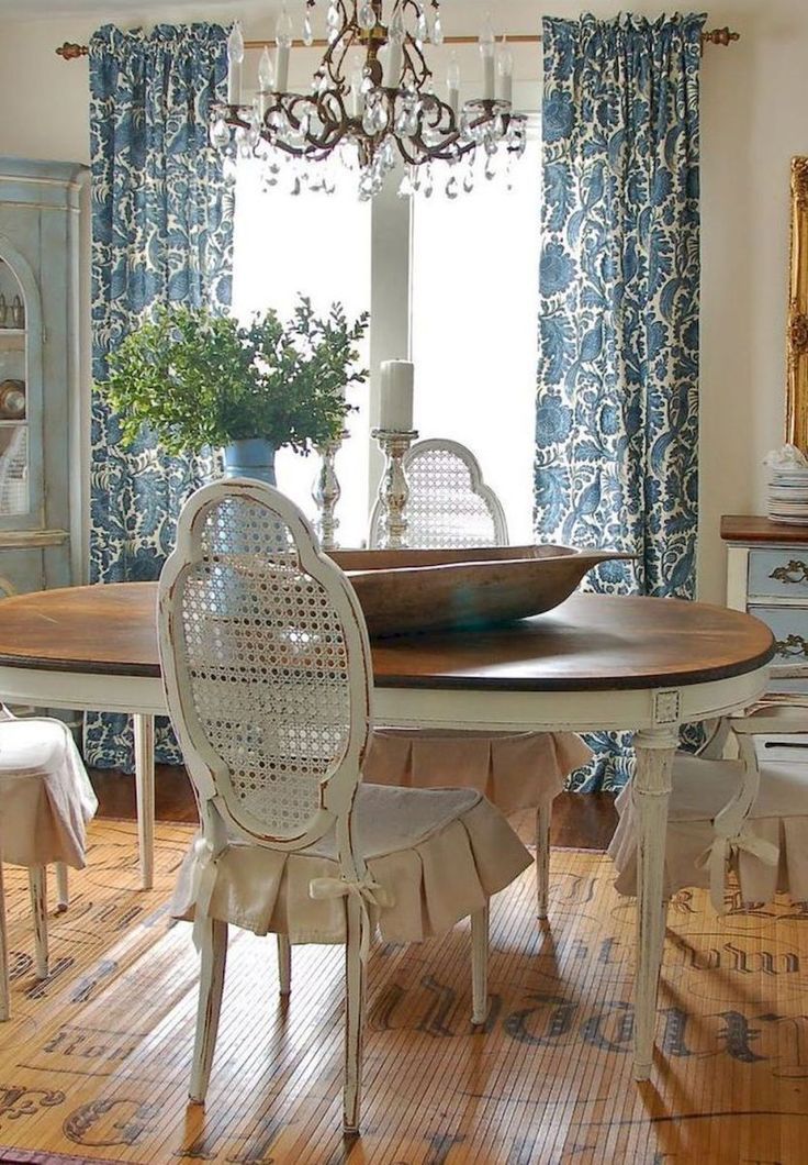 Beautiful French Country Dining Room Ideas 28