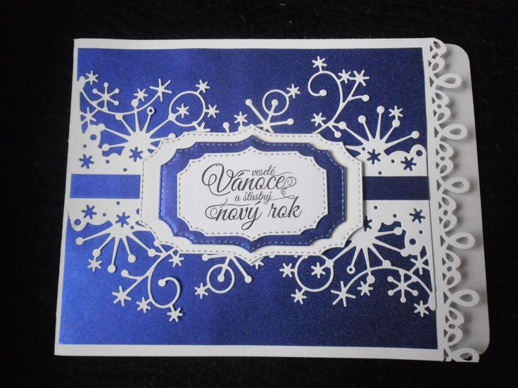 Vánoční přání )materiál PP)