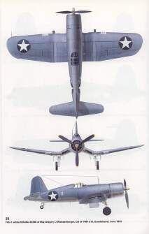 F4U Corsair of Maj. Gregory Weissenberger