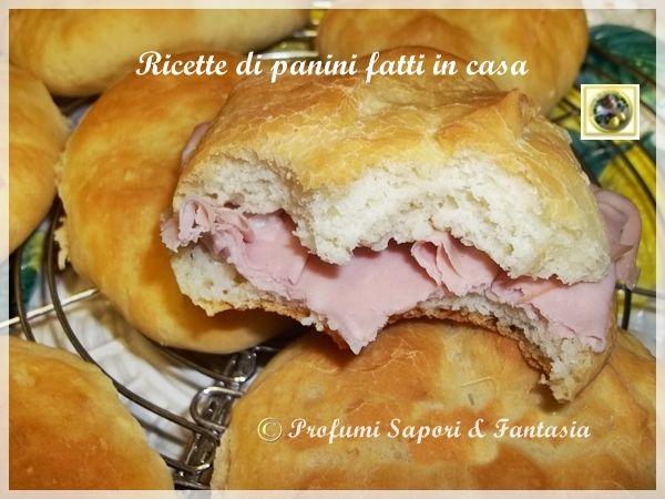 Ricette di panini fatti in casa  Blog Profumi Sapori & Fantasia