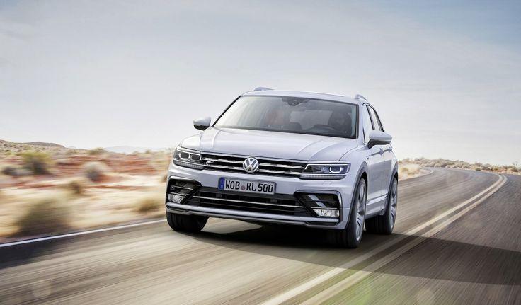 New VW Tiguan R-Line 2017