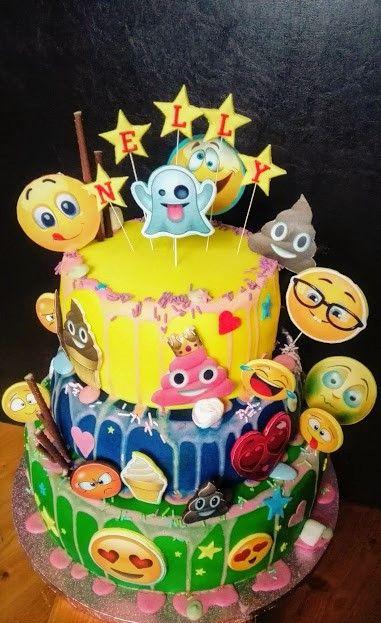 Emoges cake