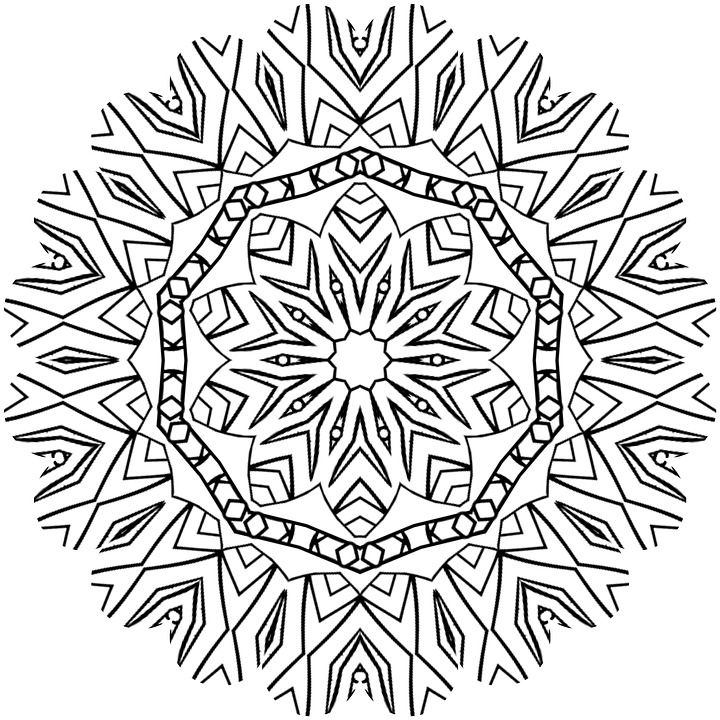 45 free adult coloring pages mandala abstract to reduce stress