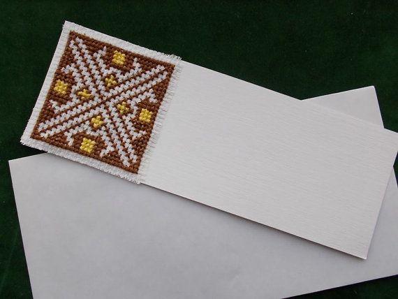 Card Cross Stitch Pattern by CamisTheCrossStitch on Etsy