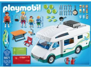 Familien-Wohnmobil PLAYMOBIL Summer Fun, empfohlenes Spielalter 4 - 10 PLAYMOBIL 6671