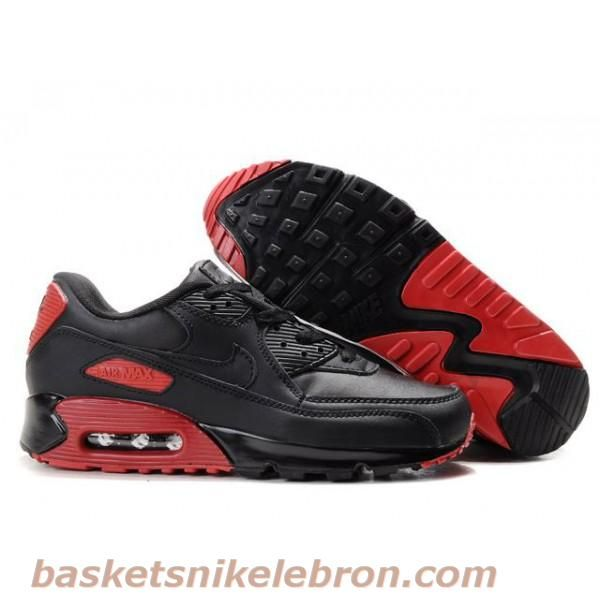 Cheap Cheaper Nike Air Max 90 Mens Premium Trainers Black And Red Sneaker  Online Shopping Store