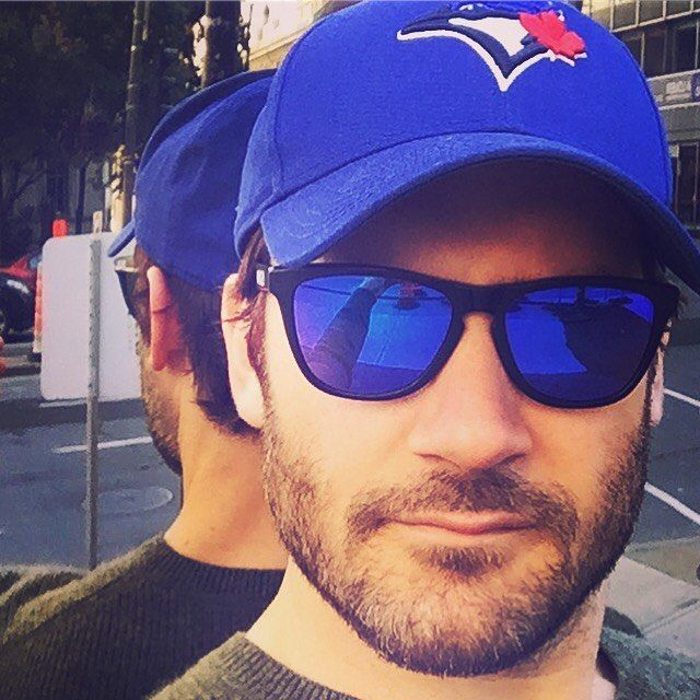 Clive Standen: It's a blue day in Toronto today!