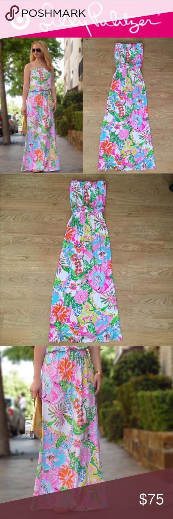 Lilly Pulitzer for Target Maxi Dress NWT! Part of the special edition Lilly for Target collaboration. No longer available in stores! Highly popular Nosey Posey print. Size Medium. Perfect condition. Lilly Pulitzer for Target Dresses Maxi