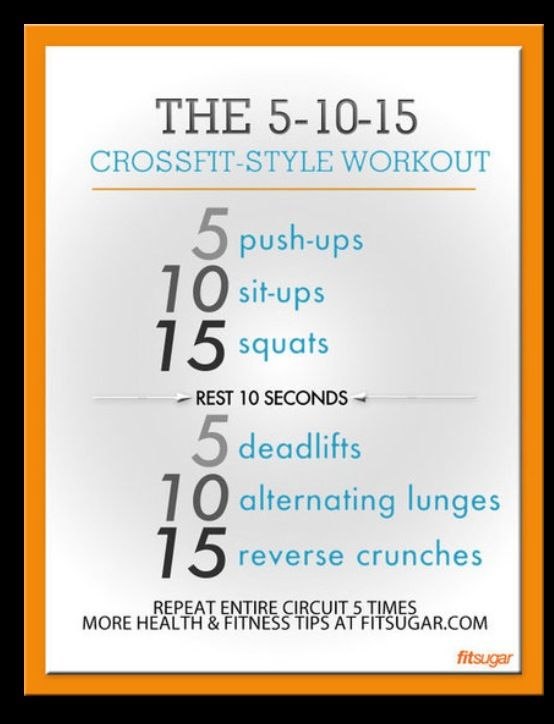 Crossfit workout #stayactive #crossfit