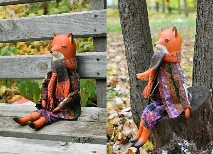Дошили пальто и пошли с лисом гулять. Брррр! Холодно! Но мы любим осень, и пальто у нас тёплое) Лис продаётся, 43 см во весь рост. Одежда полностью съёмная. Скоро будут братья и сёстры. И шляпа! А глазки у нас от @adelkawalka #лис #папьемаше #моиработы #осень #погода #октябрь #кукла #игрушка #myart #papermache #fox #toy #foxtoy #october #autumn #fall #walk #weather #doll #прогулка #кукла #холодно #cold #autumnleaves #ладолл #ladoll #печворк #pachwork #лоскутноешитье