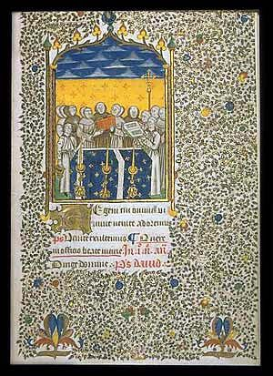 Book of Hours for Rome Use  France, Provence, probably Carpentras, c. 1450  Office of the Dead
