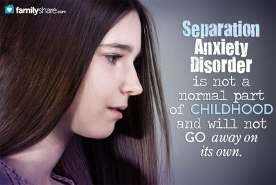 Not Adult anxiety disorder in separation join