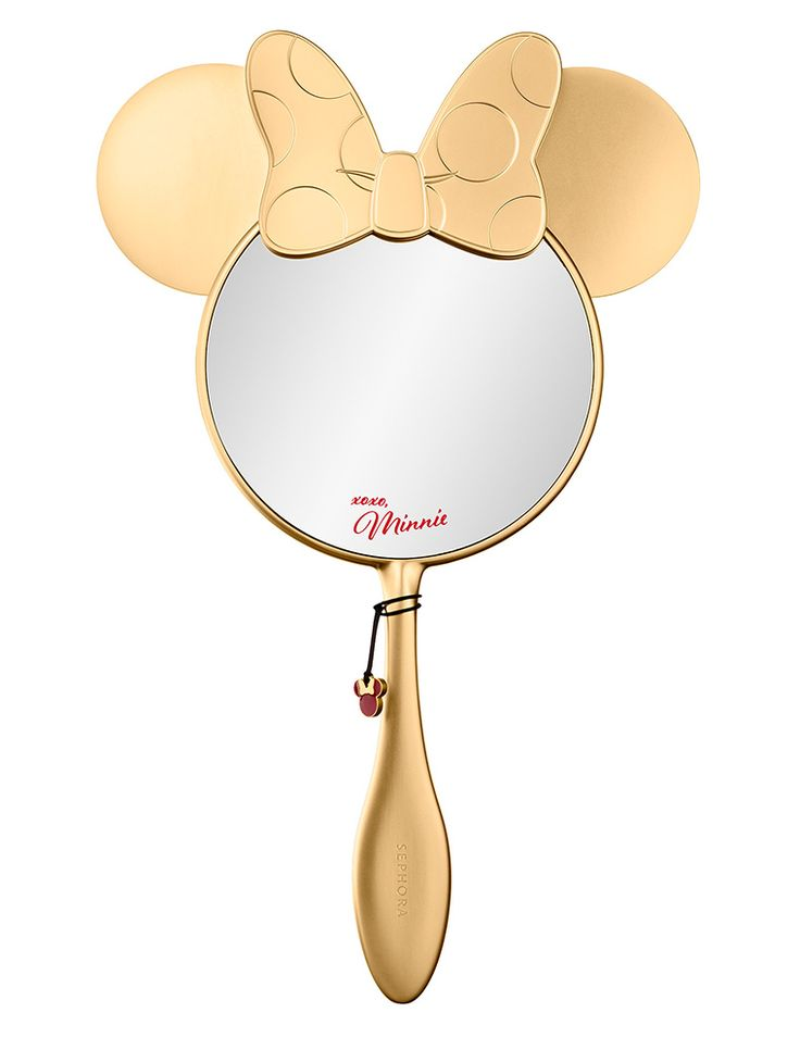 LMinnie's Aren't You Gorgeous Handheld Mirror | $54.00 | Limited Edition | Disney Minnie Beauty by Sephora Collection