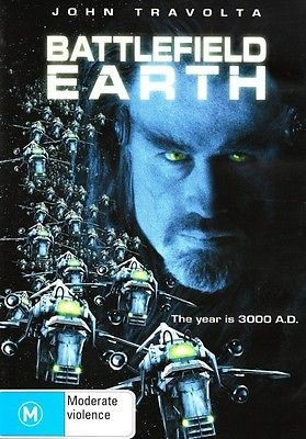 Battlefield Earth (John Travolta) DVD R4 Brand New!