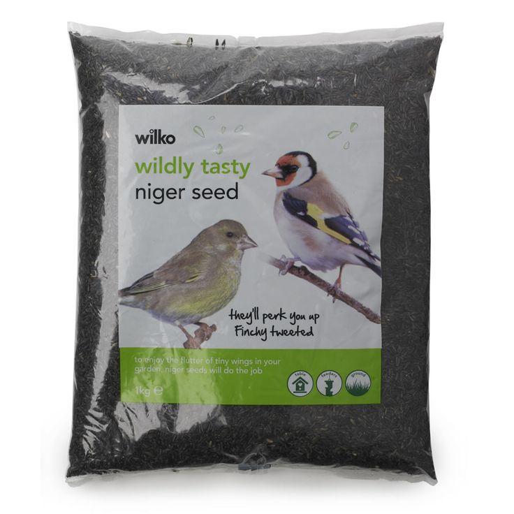 Wilko Wild Bird Niger Seed 1kg