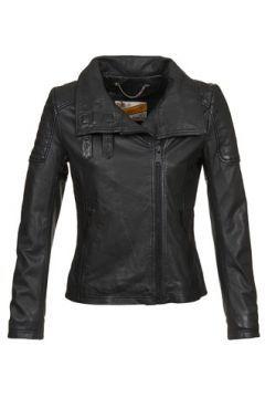 Deri ceketler / Suni deri ceketler Schott BLOUSON MOTO A COL MONTANT #modasto #giyim #moda https://modasto.com/schott/kadin/br32902ct2