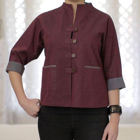 Kerstin, mid length jacket