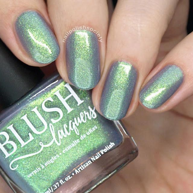 BLUSH Lacquers Sea Water Shimmers Part II Collection