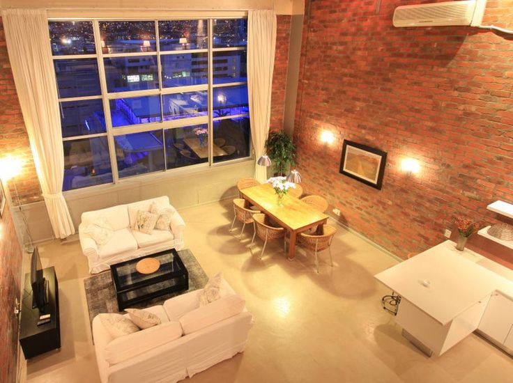 Check out this awesome listing on Airbnb: Trendy City Loft with Amazing View - Apartments for Rent in Cape Town