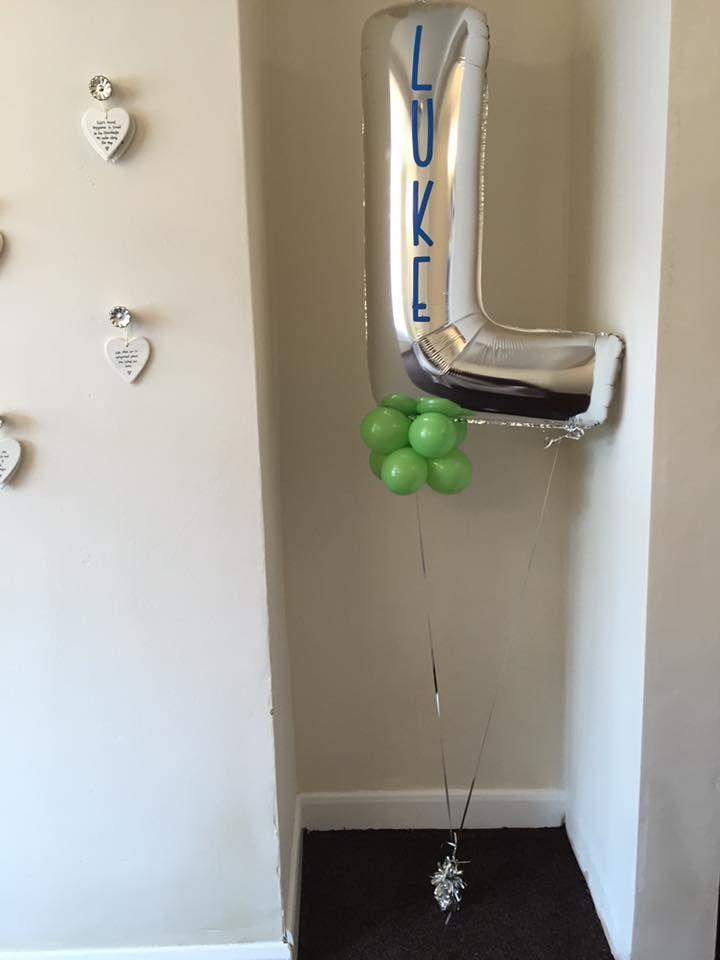 Personalised letter balloon Letter BalloonsBalloon CenterpiecesLatex 19