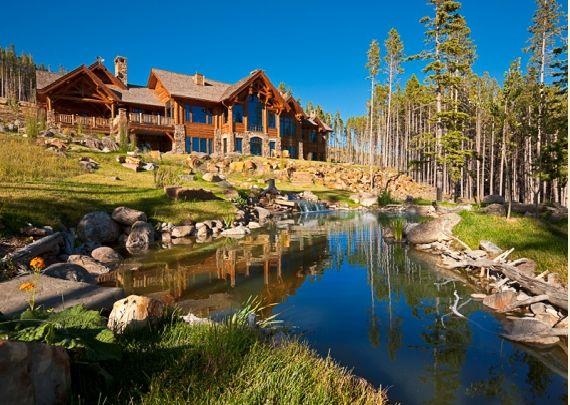 Montana architecture: Cabin, Girl, Dreams, Montana Architecture, Dream Homes, Dream Houses, Favorite, Houses Homes Lofts, Architecture Structures