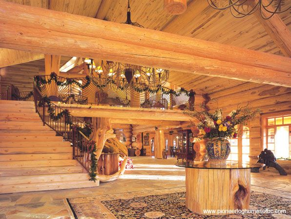 Log Home Interiors, Inside Your Custom Log Home Part 58