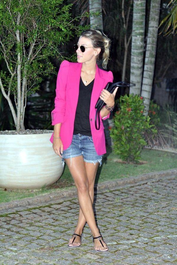 incredible pink blazer outfit women 12