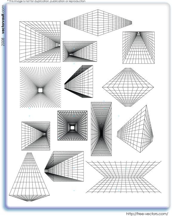 One Line Art Tutorial : De bedste idéer inden for perspective drawing på