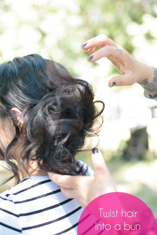 How To Loose Side Bun Wedding Updo 7