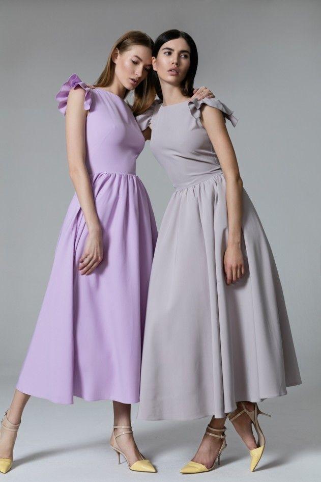 Платье «Кэнди» лаванда, Платье «Кэнди» жемчужная, Цена— 27990 рублей