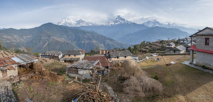 Dhampus Village, Nepal